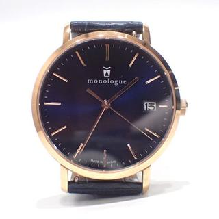 A461 モノローグ monologue MW400 クオーツ時計 腕時計(腕時計(アナログ))