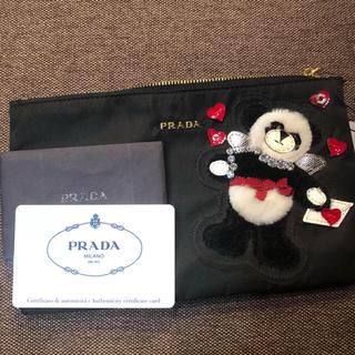プラダ(PRADA)の【【福来専用【限定価格】PRADAクリスマス限定デザインporch(ポーチ)