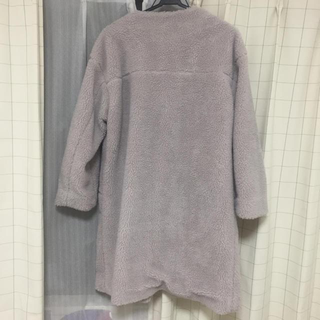 ボアコート プードルファーコート ファーコート レディースのジャケット/アウター(毛皮/ファーコート)の商品写真