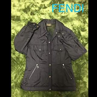 フェンディ(FENDI)のフェンディ jeans ブルゾン イタリアサイズ42      正規品(ブルゾン)