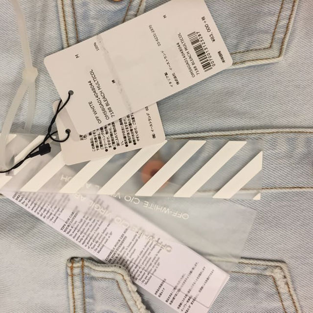 off-white オフホワイト イーグルデニムシャツ M メンズのトップス(シャツ)の商品写真