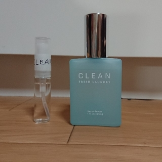 クリーン(CLEAN)のクリーン フレッシュランドリー 30ml残量9割(ユニセックス)
