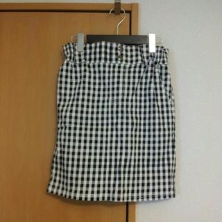 レイカズン(RayCassin)のギンガムタイトスカート(ミニスカート)