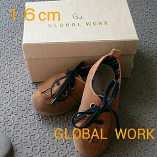 グローバルワーク(GLOBAL WORK)のatret様専用16センチ グローバルワーク シューズ(ローファー)