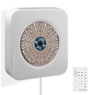 新品未使用 壁掛け ポータブルCDプレーヤー Bluetoothスピーカー (ポータブルプレーヤー)