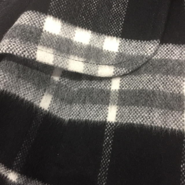 BURBERRY BLUE LABEL(バーバリーブルーレーベル)のバーバリー ブルーレーベル ウール モヘア ショートコート 36 レディースのジャケット/アウター(ピーコート)の商品写真