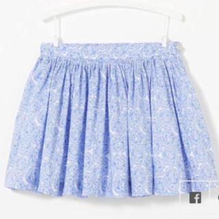 ジャカディ(Jacadi)のjacadi paris 新品未使用 総柄 スカート♡5A(スカート)