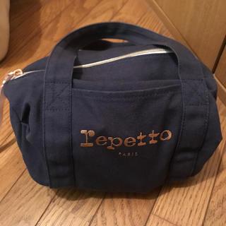 レペット(repetto)のレペットrepettoミニボストンバッグネイビー(ハンドバッグ)