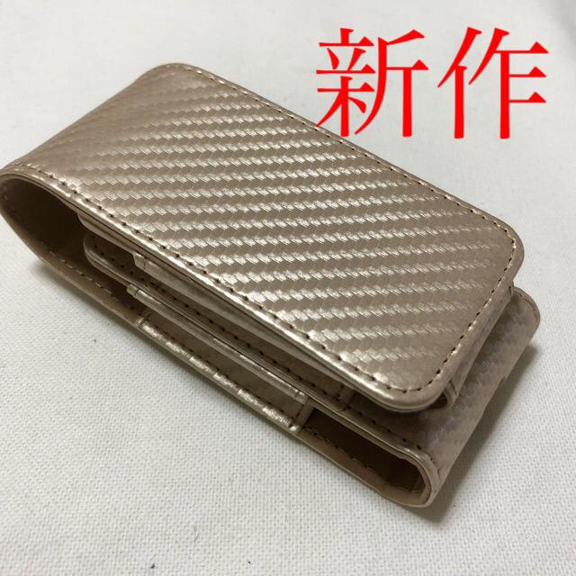 新作 カーボングローケース ゴールド メンズのファッション小物(タバコグッズ)の商品写真