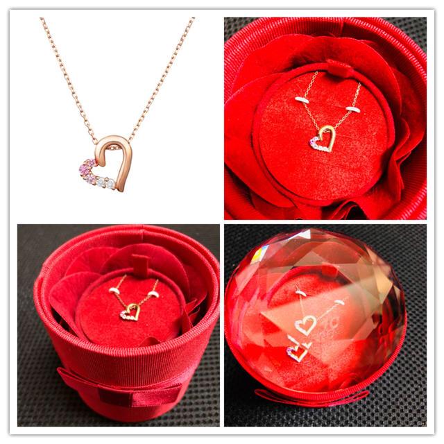 4℃(ヨンドシー)の4°C ピンクゴールドネックレス レディースのアクセサリー(ネックレス)の商品写真