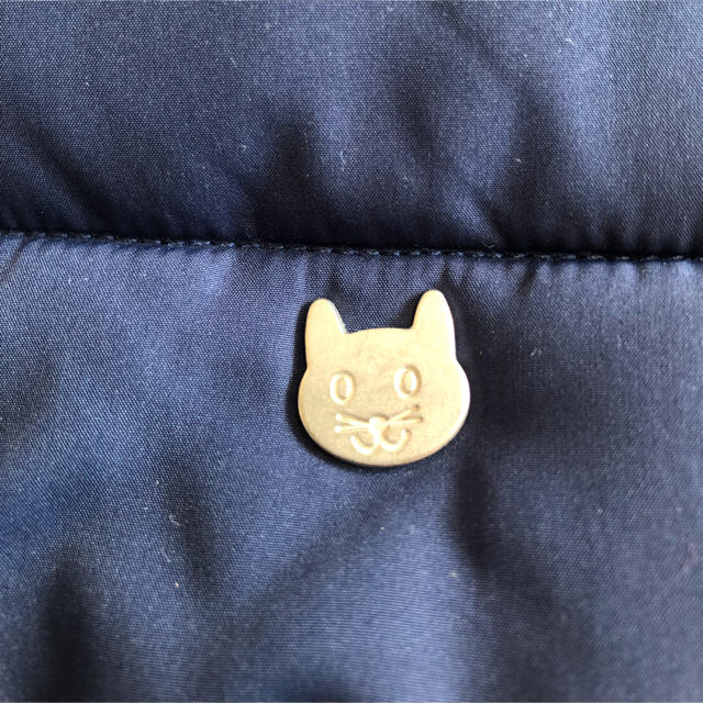 ZARA KIDS(ザラキッズ)のZara Baby 中綿アウター 98cm ネコ キッズ/ベビー/マタニティのキッズ服 女の子用(90cm~)(ジャケット/上着)の商品写真