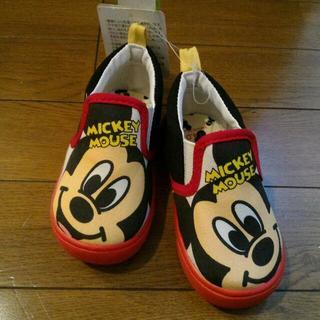 ディズニー(Disney)のディズニーミッキー★スリッポン★14cm(スリッポン)