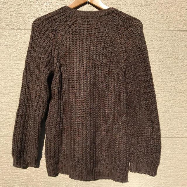 nano・universe(ナノユニバース)のナノユニバース ニット セーター メンズ M ブラウン メンズのトップス(ニット/セーター)の商品写真