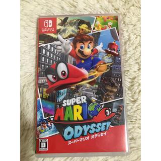 ニンテンドースイッチ(Nintendo Switch)の新品未開封  任天堂スウィッチ  スーパーマリオオデッセイ(家庭用ゲームソフト)