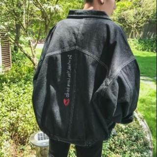 ブラックメンズ の デニムジャケット     (Gジャン/デニムジャケット)