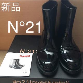 ヌメロヴェントゥーノ(N°21)のN°21 レインブーツ TOGA CHANEL マルニ トゥモローランド好きな方(レインブーツ/長靴)