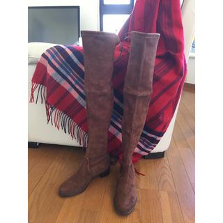 スチュワートワイツマン(Stuart Weitzman)の高級ブーツ 定価の半額以下!必見!!!新品・未使用23cm(ブーツ)