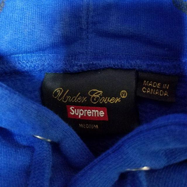 Supreme(シュプリーム)のSupreme×UNDERCOVER  パーカー ブルーM メンズのトップス(パーカー)の商品写真