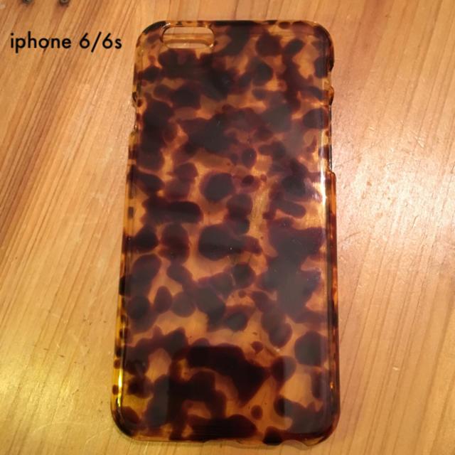 fe104005ff iphone 6/6s べっ甲カバー スマホ/家電/カメラのスマホアクセサリー(iPhone