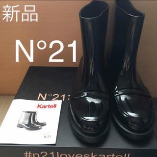 ヌメロヴェントゥーノ(N°21)のN°21 レインブーツ TOGA CHANEL マルニ プラダ GUCCI(レインブーツ/長靴)