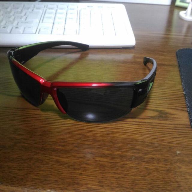 サングラス レッド×ブラック メンズのファッション小物(サングラス/メガネ)の商品写真