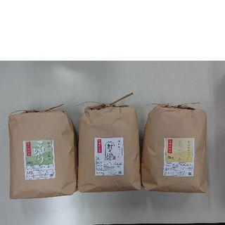 新米✨農家直送!新潟米🍚3点セット(米/穀物)