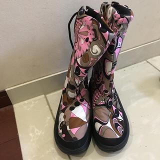 エミリオプッチ(EMILIO PUCCI)のゆゆゆ様専用 未使用 エミリオプッチ ブーツ 35(ブーツ)