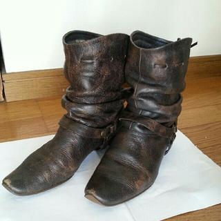 バークレー(BARCLAY)のSucceed BARCLAY ブーツ ブラウン サイズ22.5cm(ブーツ)