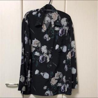 ラッドミュージシャン(LAD MUSICIAN)のLAD MUSICIAN 44 新品未使用  17SS薔薇柄パジャマシャツ(シャツ)