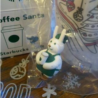 スターバックスコーヒー(Starbucks Coffee)のスタバ コーヒーサンタ うさぎ(ノベルティグッズ)