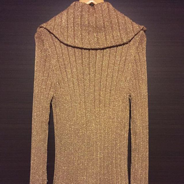 【激安】Dress Camp(ドレスキャンプ) ゴールド/ニット/セーター メンズのトップス(ニット/セーター)の商品写真