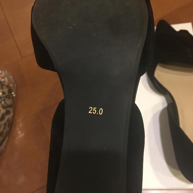 RANDA(ランダ)の限定お値下げ!LANDAブラックパンプス♡ レディースの靴/シューズ(ハイヒール/パンプス)の商品写真
