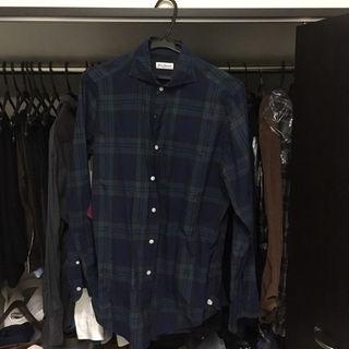 ギローバー(GUY ROVER)のエリッコフォルミコラ チェックシャツ ブラックウォッチ(シャツ)
