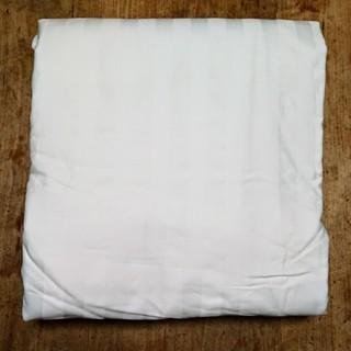 ムジルシリョウヒン(MUJI (無印良品))の新品未使用  無印良品 インド綿掛ふとんカバーSD/オフ白ストライプ(その他)