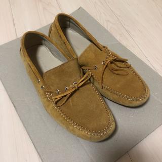 グリーンレーベルリラクシング(green label relaxing)のUNITED ARROWS greenlabelrelaxing 革靴 スエード(ドレス/ビジネス)