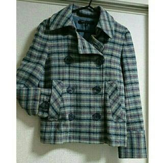 マークジェイコブス(MARC JACOBS)のマークジェイコブスのウールジャケット【美品】(ピーコート)