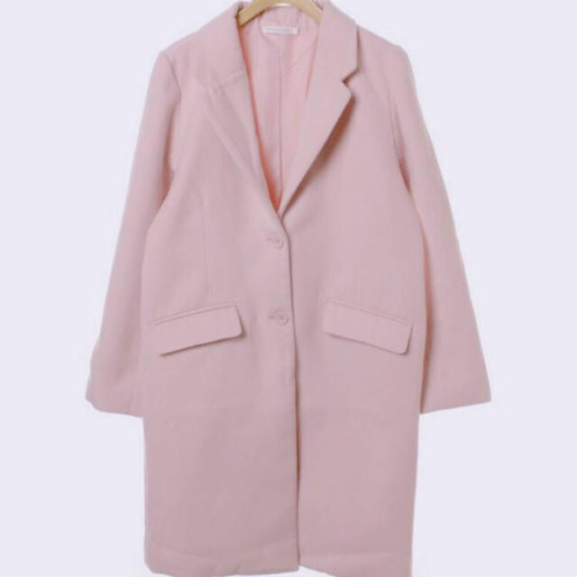 WEGO(ウィゴー)のお値下げ wego チェスターコート ピンク レディースのジャケット/アウター