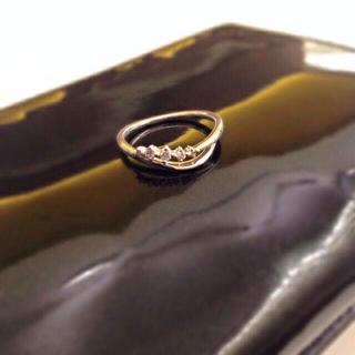 ヨンドシー(4℃)の4°C ダイヤリング♡(リング(指輪))