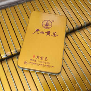 特価 湖南省君山黄茶 ひと箱(5gx10個)x10箱(茶)