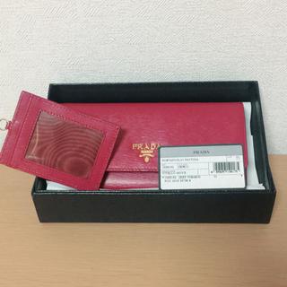 プラダ(PRADA)の人気のピンク☆新品未使用 PRADA財布(財布)