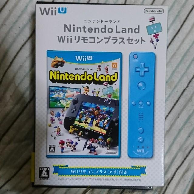 Wii U(ウィーユー)のSTARGOLD9Z様専用 新品 ニンテンドーランド Wiiリモコンプラスセット エンタメ/ホビーのテレビゲーム(家庭用ゲームソフト)の商品写真