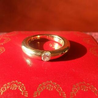 カルティエ(Cartier)のあちこ様専用 カルティエ エリプスリング ダイヤ 54 (リング(指輪))