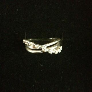 シルバー925 ピンキーリング 美品(リング(指輪))