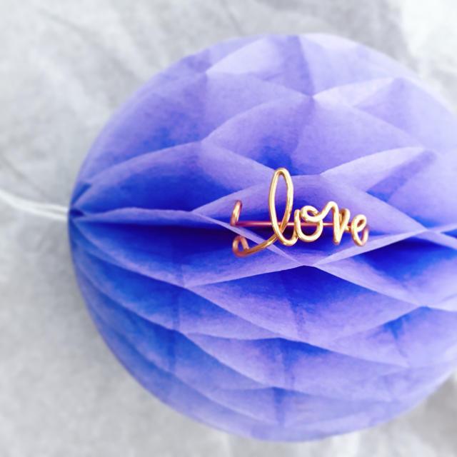 love you リング レディースのアクセサリー(リング(指輪))の商品写真