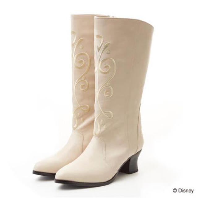 Secret Honey(シークレットハニー)のアナ ブーツ 白 M(2) シークレットハニー レディースの靴/シューズ(ブーツ)の商品写真
