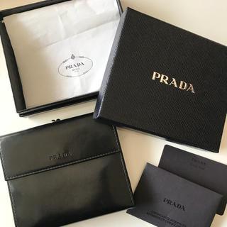 プラダ(PRADA)の定価118000円 PRADA 折り財布(財布)