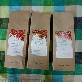 大人気の食べれる紅茶 ティートリコ TEAtrico 50g色々3点セット(茶)