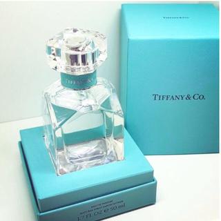 ティファニー(Tiffany & Co.)の新品未開封 TIFFANY & CO. 新作オー ド パルファム 香水 50ml(香水(女性用))