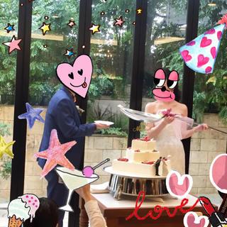 結婚式♡ビッグスプーン✨(ウェディングドレス)