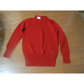 コーチ(COACH)のお値下げ 新品タグ付き COACH セーター ウール100% コーチ 送料込(ニット/セーター)
